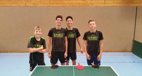 Jungen U18 I siegen gegen Rommelshausen