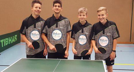 Jungen U18 holen die Meisterschaft